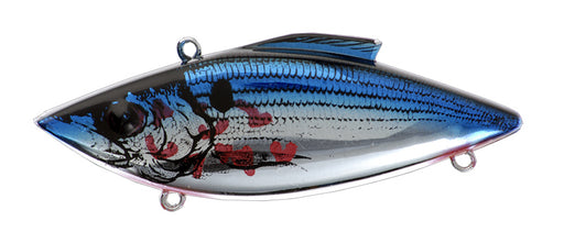 Bill Lewis Rat-L-Trap Magnum Lipless Crankbait Bleeding Chrome Blue