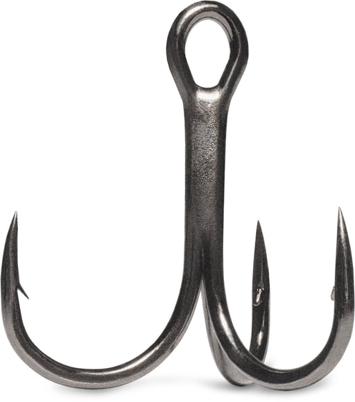 VMC 7547 Hybrid Treble Hook 1X Black Nickel 4 pack Size 1