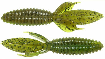 Reaction Innovations Smallie Beaver Soft Plastic Creature Bait 10 pack