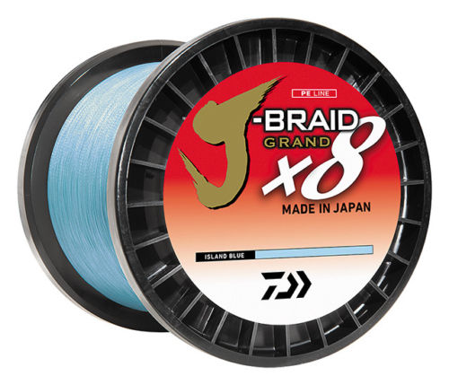Daiwa J-Braid Grand x8 Braided Line 3,000 Yard Bulk Spools
