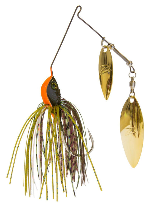 Z-Man SlingBladeZ Double Willow Spinnerbait Red Perch 3//8 oz