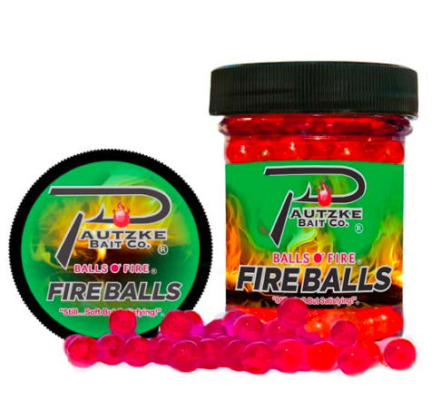 Pautzke Bait Co. Fire Balls Scented Artificial Salmon Eggs