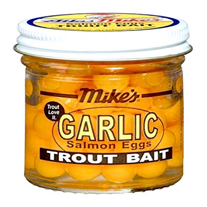 Mike's Garlic Eggs 1.1 oz. Jar