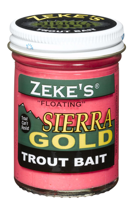 Zeke's Sierra Gold Floating Trout Bait