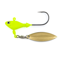 Fish Head Spin Underspin Jig