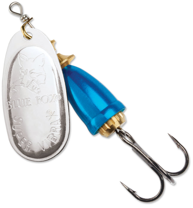 Blue Fox Classic Vibrax Plated Series Inline Spinner