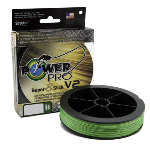 Power Pro Super8Slick V2 Aqua Green Braided Line