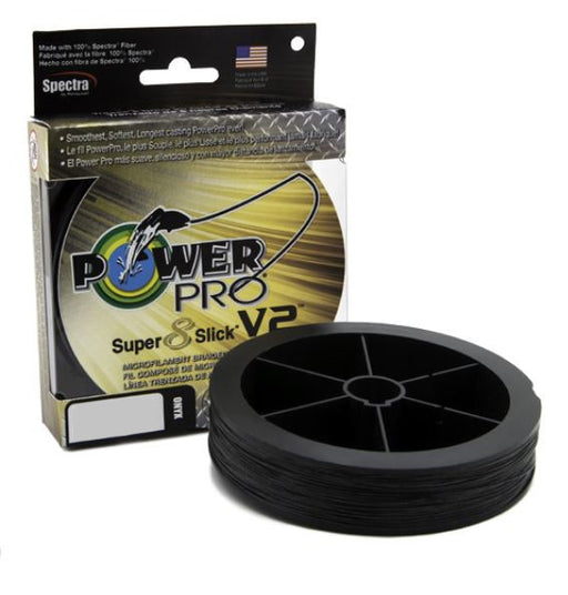 Power Pro Super8Slick V2 Onyx Black Braided Line