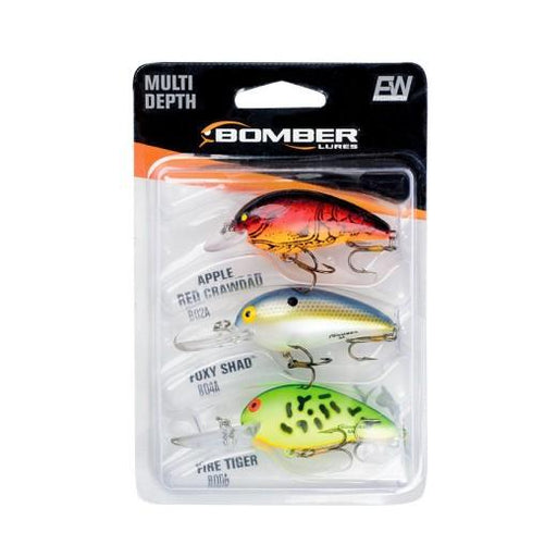 Bomber Model A 3-Piece Crankbait Variety Pack