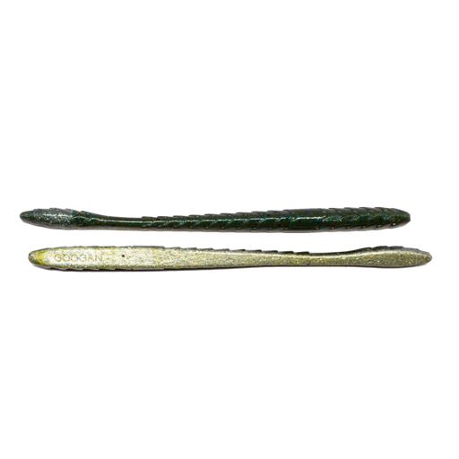 Googan Baits Slim Shake 6 inch Soft Plastic Finesse Worm 9 pack
