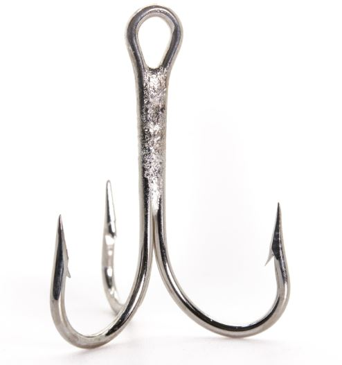 Mustad 3565 O'Shaughnessy Nickel Treble Hook 2X Strong 25 pack