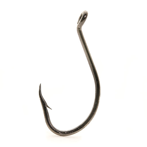 Mustad 92553BN Black Nickel Beak/Octopus 1X Strong Drop Shot/Bait Hook