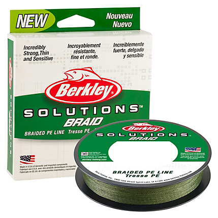 Berkley Solutions Mist Green Braided Line 110 Yards