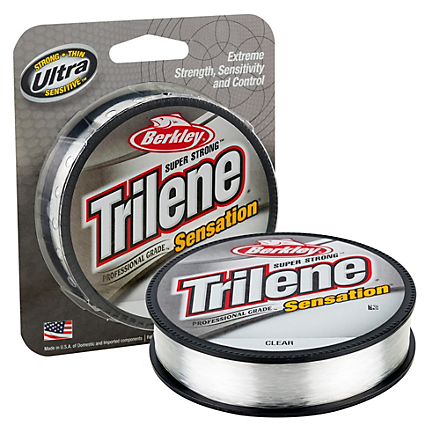 Berkley Trilene Sensation Monofilament Filler Spool 330 Yards