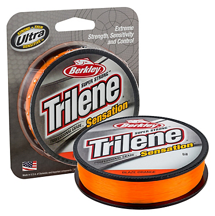 Berkley Trilene Sensation Monofilament Filler Spool Hi-Vis 330 Yards