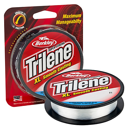 Berkley Trilene XL Monofilament Fluorescent Clear/Blue Filler Spools 300-330 Yards