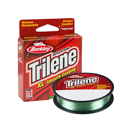 Berkley Trilene XL Monofilament Lo-Vis Green Pony Spools 110 Yards