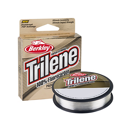 Berkley Trilene 100% Fluorocarbon Professional Grade Clear 110 Yards