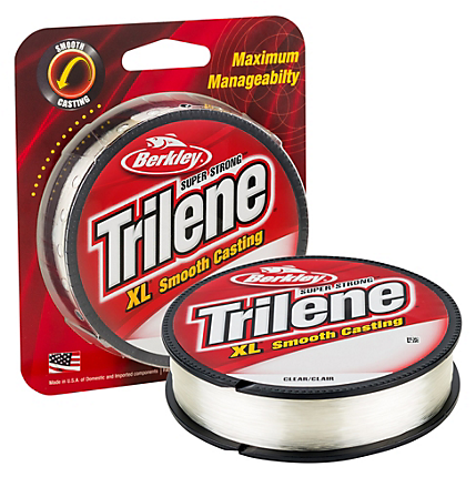 Berkley Trilene XL Monofilament Clear Filler Spools 250-330 Yards