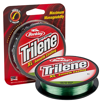 Berkley Trilene XL Monofilament Lo-Vis Green Filler Spools 270-330 Yards