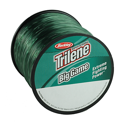 Berkley Trilene Big Game Monofilament Line Green Quarter Pound Spools