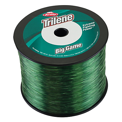 Berkley Trilene Big Game Monofilament Line Green Small Bulk Spools