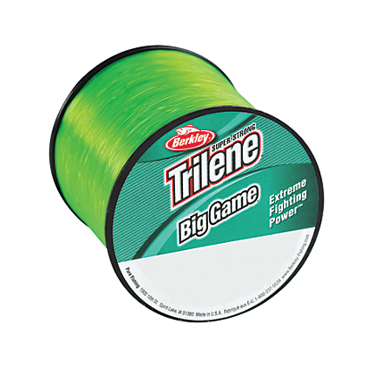 Berkley Trilene Big Game Monofilament Line Solar Bright Green Quarter Pound Spool