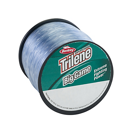 Berkley Trilene Big Game Monofilament Line Steel Blue Quarter Pound Spools