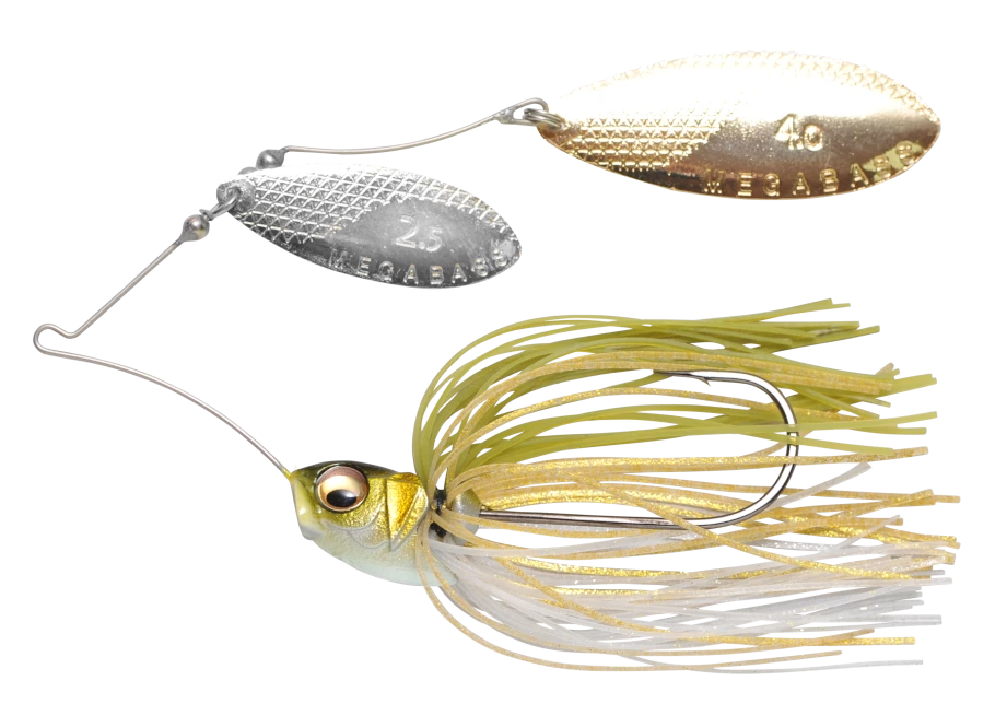 Megabass V9 Double Willow Spinnerbait