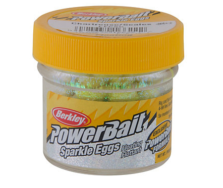 Berkley PowerBait Sparkle Power Eggs Floating Magnum 1 oz. Jar