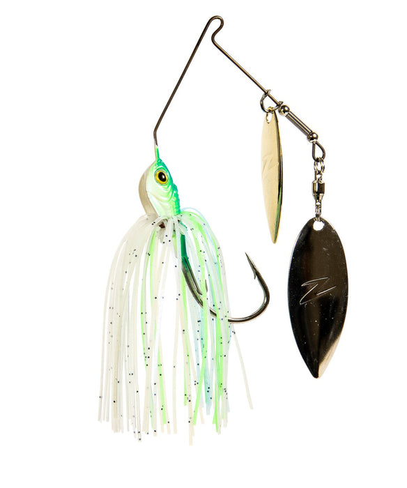 Choose Color//Size Z-Man SlingBladeZ Power Finesse Double Willow Spinnerbait