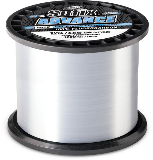Sufix Advance Fluorocarbon Bulk Spool 1200 Yards
