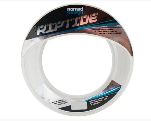 Nomad Design Nomad Riptide Flouro Coated Clear Mono Leader