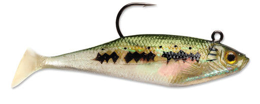 Storm WildEye Swim Shad Paddle Tail Swimbait 3 pack
