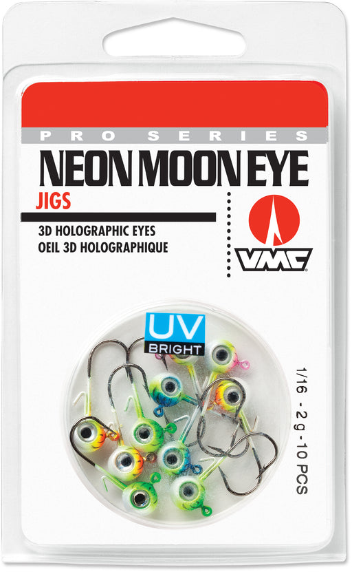 VMC Neon Moon Eye Jig UV Kit