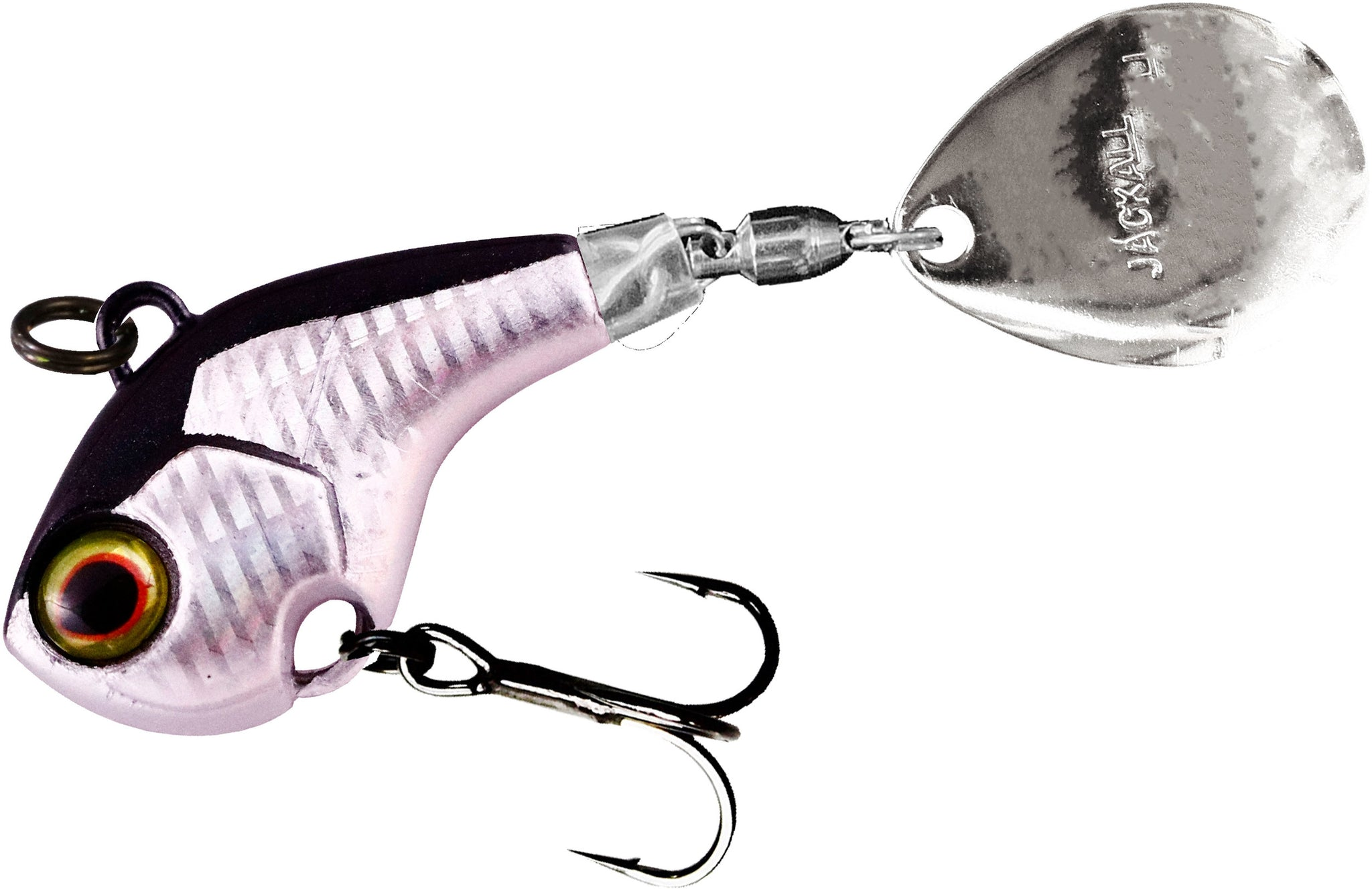 Jackall Deracoup 1//2 oz Spin Tail Sinking Lure HL Pink Gold 2748