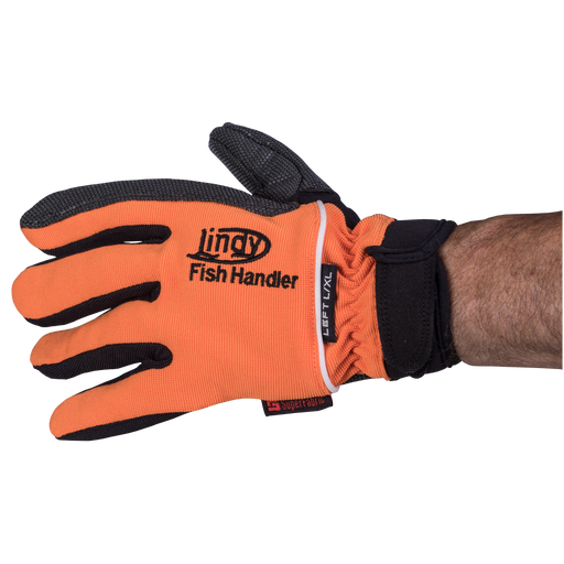 Lindy Fish Handling Single Glove Orange