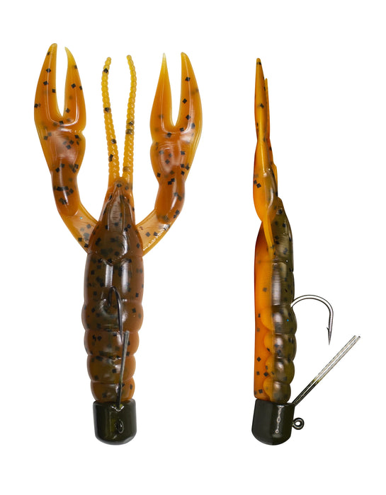 Lunkerhunt Pre-Rigged Finesse Craw 3 inch Ned Rig Craw