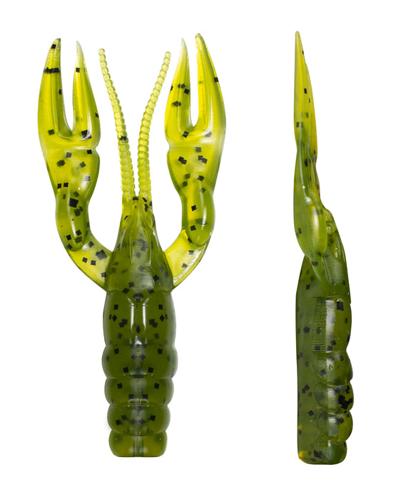 Lunkerhunt Finesse Craw 3 inch Soft Plastic Ned Craw 8 pack