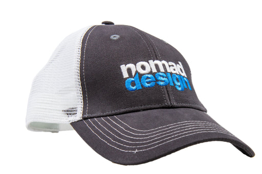 Nomad Design Blue/Grey Logo Trucker Hat