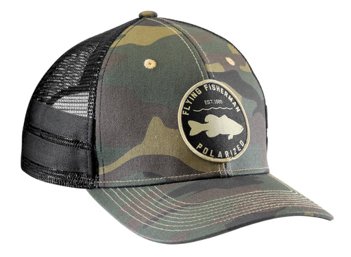 Flying Fisherman Bass Patch Trucker Hat