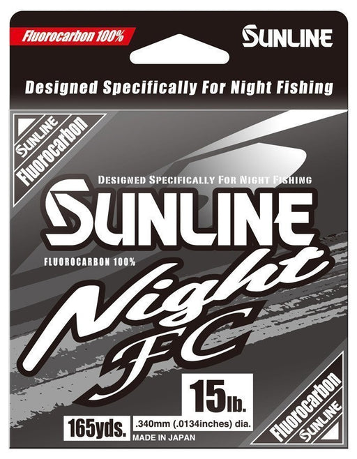 Sunline Night FC Fluorocarbon Clear Blue 165 Yards