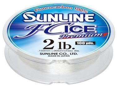 Sunline FC Ice Premium Ice Fishing Fluorocarbon 100 Yards