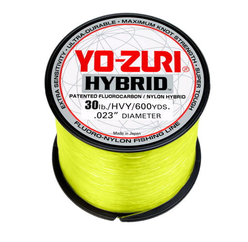 Yo-Zuri Hybrid Hi-Vis Yellow 600 Yards