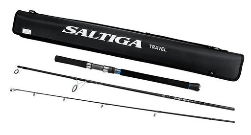 Daiwa Saltiga Saltwater Travel Spinning Rods
