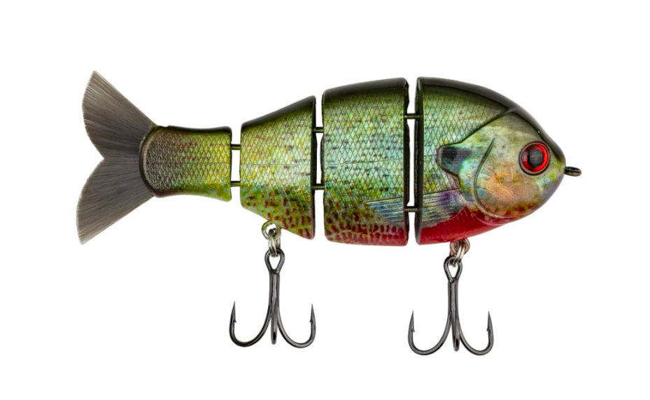 """4 lures Catch co mike bucca/'s baby bull shad swimbait 3.75/"""" slow sink assortment"""