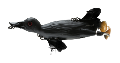 Savage Gear 3D Topwater Suicide Duck Small Animal Wakebait Baby Black Bird