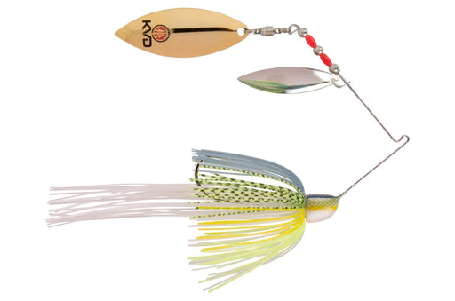 Strike King Finesse KVD Spinnerbait Double Willow Chartreuse Sexy Shad