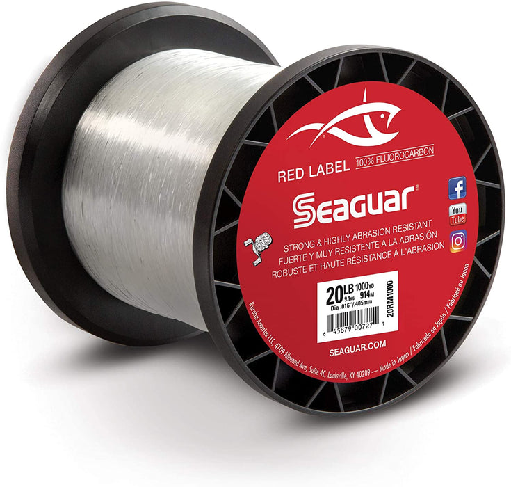 Seaguar Red Label Fishing Line 1000 Yards