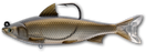 LIVETARGET Hitch Soft Body Swimbait Natural Bronze